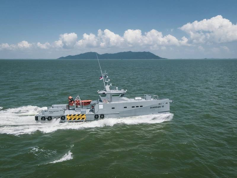New Vessels Up Security Offshore Nigeria